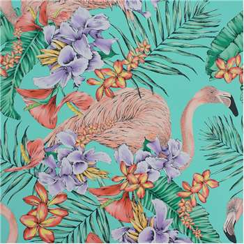Matthew Williamson - Flamingo Club Wallpaper - W6800-01 (H1000 x W68.5cm)
