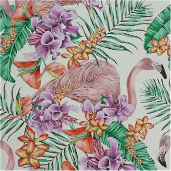Matthew Williamson - Flamingo Club Wallpaper - W6800-03 (H1000 x W68.5cm)
