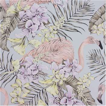Matthew Williamson - Flamingo Club Wallpaper - W6800-04 (H1000 x W68.5cm)