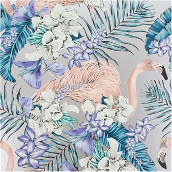 Matthew Williamson - Flamingo Club Wallpaper - W6800-05 (H1000 x W68.5cm)