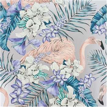 Matthew Williamson - Flamingo Club Wallpaper - W6800-05 (H1000 x W68.5cm)