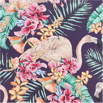 Matthew Williamson - Flamingo Club Wallpaper - W6800-06 (H1000 x W68.5cm)