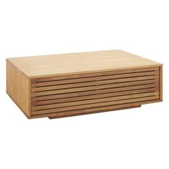 Max Oak coffee table (Width 108.5cm)