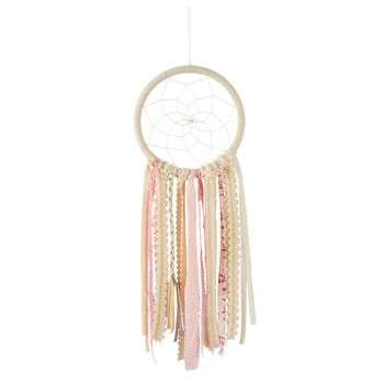 MAYA Pink and White Dreamcatcher (72 x 28cm)