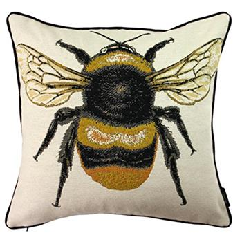 McAlister Textiles Queen Bee Tapestry Cushion Cover