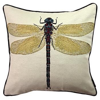 McAlister Textiles Dragonfly Tapestry Cushion Cover