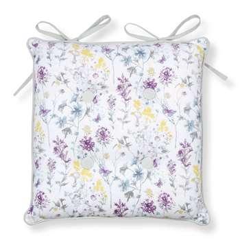 Meadow Flower Seat Pad (40 x 4cm)