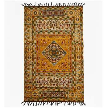 Medium Amber Rug - Yellow (H120 x W180cm)