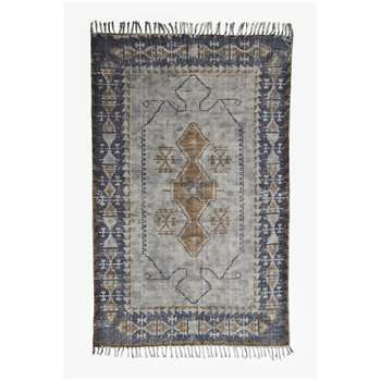 Medium Vintage King Rug - Grey (120 x 180cm)