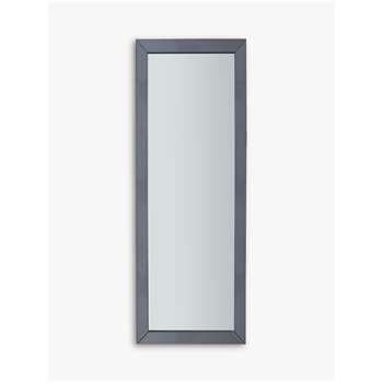 Melanie Rectangular Wall Mirror, Grey (H142.5 x W51cm)
