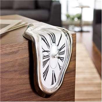 Melting table clock (18 x 12cm)