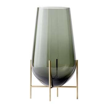 MENU - Echasse Vase - Smoke - Medium (H45 x W22 x D22cm)