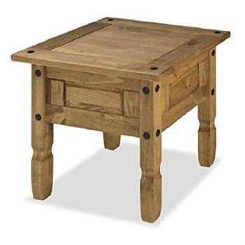 Mercers Furniture Corona Lamp Table, Pine
