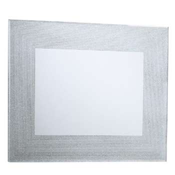 Meridian Mirror Rectangle Silver (H50 x W60cm)
