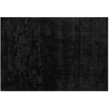 Merkoya Luxury Viscose Rug, Black (H200 x W300cm)