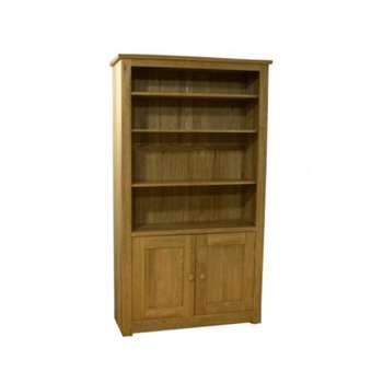Messina Oak Bookcase (200 x 113cm)