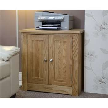 Messina Oak Printer Cabinet (77 x 75cm)