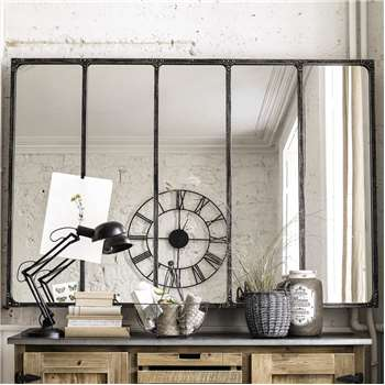 CARGO Metal Industrial Mirror (123.5 x 179.5cm)