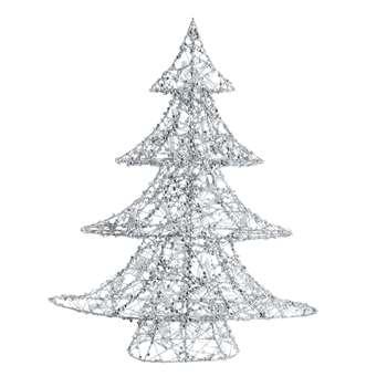 Metal Luminous Christmas Tree (H64 x W51cm)
