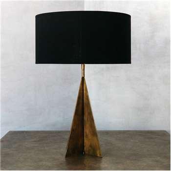 Metal Triangular Cross Lamp (41.5 x 21cm)