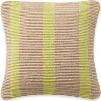 Metica Recycled P.E.T Indoor/Outdoor Cushion, Chartreuse Yellow (H45 x W45cm)