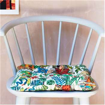 Mexicana Tapestry Print Seat Pad (H40 x W40cm)