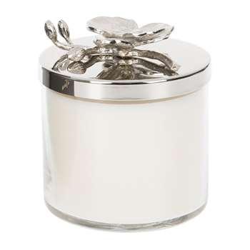 Michael Aram - White Orchid Candle (H12.7 x W9.5 x D9.5cm)