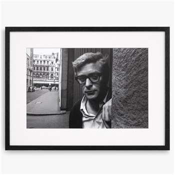 Michael Caine - Framed Print & Mount (H40.3 x W53.8 x D2.8cm)