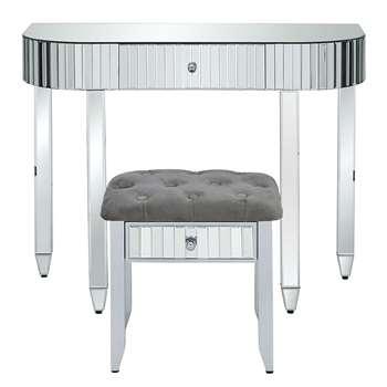 Michelle Keegan Home - Phoebe Mirrored Dressing Table & Stool