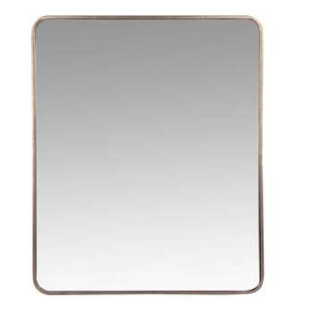 Mike - Gold Metal Mirror (H60 x W50 x D4cm)