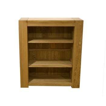 Milan 105cm Low Bookcase (105 x 92cm)