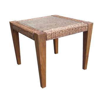 Milan Abaca Rattan Small Dining Table (Width 90cm)