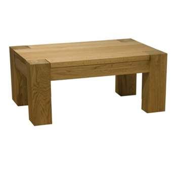 Milan Oak 3x2 Coffee Table (40 x 90cm)