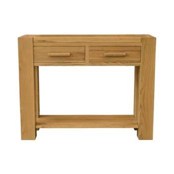 Milan Oak Console Table (83 x 110cm)