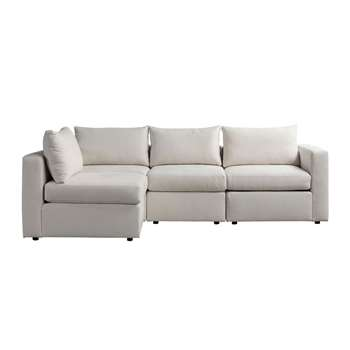 Miller Three Seat Corner Sofa - Left or Right Hand – Calico (H67 x W250 x D163cm)
