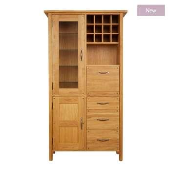 Milton Oak Drinks Cabinet (183 x 100cm)