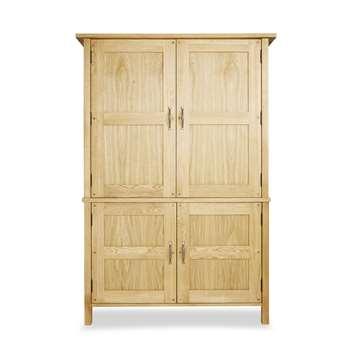Milton Oak Pantry (183 x 125cm)