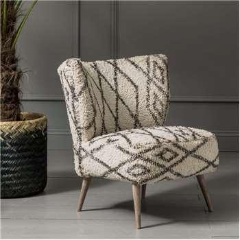 Mina Printed Chair (H75 x W52 x D65cm)