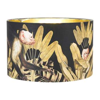 MINDTHEGAP - Monkey Drum Lamp Shade - Small (H22 x W35 x D35cm)