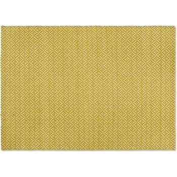 Mira Flatweave Rug, Chartreuse Yellow (H160 x W230 x D1cm)
