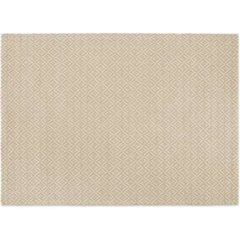 Mira Flatweave Rug, Soft Taupe (H160 x W230 x D1cm)