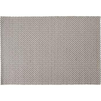 Mira Large Flatweave Rug, Grey (160 x 230cm)