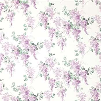 Mirabelle Pale Iris Wallpaper