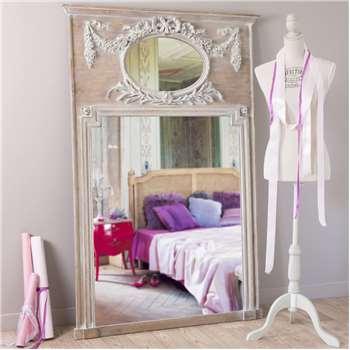 MIRANO wooden trumeau mirror H 160cm