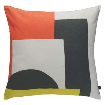 Habitat Miro Patterned Cushion - Multicoloured (H45 x W45cm)