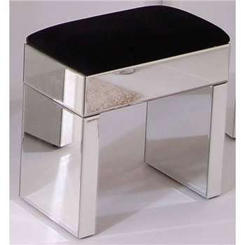 Mirrored Stool (47 x 45cm)