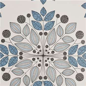 MissPrint Kaleidoscope Wallpaper, Blues, Misp1091