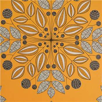 MissPrint Kaleidoscope Wallpaper, Pumpkin, Misp1095