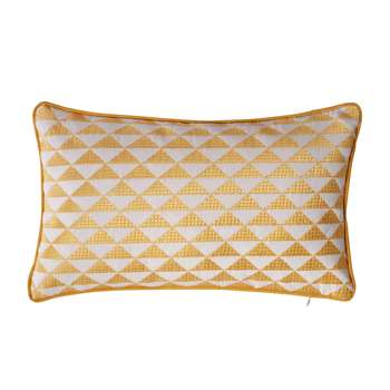 MIX cotton cushion in yellow 30 x 50cm
