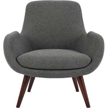 Moby Accent Chair, Marl Grey (64 x 75cm)